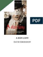David Ebershoff - A Dan Lany