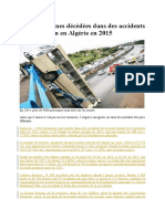 Algérie - Les accidents de la route.docx