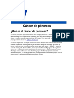 Cancer de Pancreas Fisio