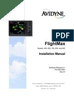 Avidyne Installation Manual