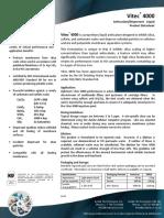 Vitec 4000 Antiscalant Datasheet
