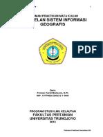Pedoman Praktikum Pemodelan Sistem Informasi Geografis