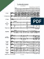 Richard Strauss - Liebeshymnus
