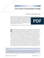 Four Stories of Quantitive Easing