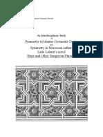 Islamic Art and Geometric Design c Michael