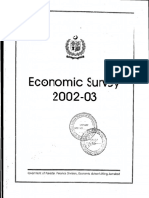 Economic Survey 2002-2003