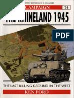 Ebook (Inglish) @ History @ Osprey + Campaign - 074 1945 - The Rhineland.pdf