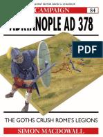 Ebook (Inglish) @ History @ Osprey + Campaign - 084 378 - Adrianople + The Goths crush Rome's legions.pdf