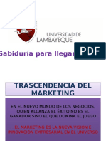 Trascendencia Del Marketing