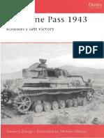 Ebook (Inglish) @ History @ Osprey + Campaign - 152 1943 - Kasserine Pass - Rommel's last victory.pdf