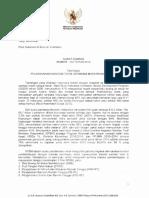 Surat Edaran Menkes No 132 Th 2013