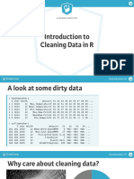 CleaningData Chapter 1 with R