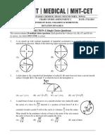 Mechanics Practice Papers 2