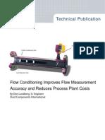MeasurIT FCI VORTAB Conditioner Improves Accuracy 0906