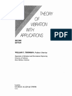 Theory of Vibration With Applications 2nd Edition