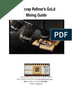 EScrap Refiners Gold Mining Guide