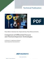MeasurIT FCI White Paper Gas Flow Measurement 0904