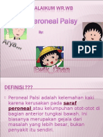 Task Reading Peroneal Palsy Edit,,,