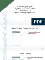Android Mail Akun UI