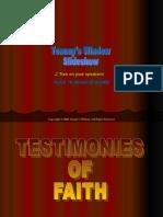 Testimonies Faith