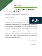 materi ekonomi internasional