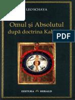 Leo Schaya Omul Si Absolutul Dupa Doctrina Kabbalei (1)