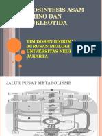Biosintesis Asam Amino Kirim