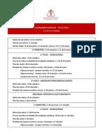 Calendario Escolar Ano Letivo 2015 16