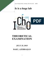 2015 IChO Theory