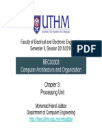 Chap 3 Processing Unit
