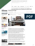 Desearás Este Destructor Estelar de LEGO Por Encima de Todo - Engadget en Español