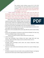 Validasi Metode Analisa Atau Analytical Method Validation Menurut SNI 19