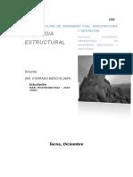 INFORME de Estrcutral Arequipa