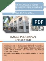 Paparan Indikator Yanis 16112015