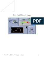 Build a Light Intensity Logger LV DAQ