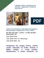Cone Chinês - Método Prático e Natural para Limpeza dos Ouvidos - Aplicação e Venda do Produto  em São José SC.docx