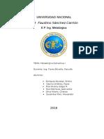 Analisis de Un Carbon