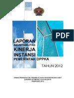 Cover Lakip 2012