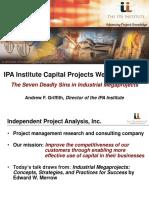 IPA Institute Webinar 7 Deadly Sins Industrial Megaprojects