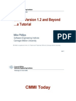 CMMI® Version 1.2 and Beyond toturial