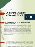 La Fermentación Metanogénica