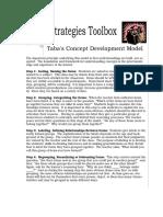 tabas concept development model