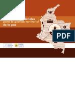 Diseños Institucionales Para La Gestion Territorial de La Paz