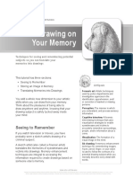 drawing exercise memory