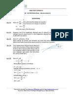 12 Physics Electrostatics Test 01 Answer 5x7f
