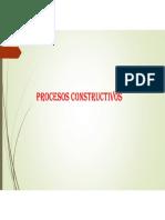 Procesos Construccivos