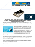 Samsung Galaxy Note 6 Lite_ Snapdragon 820, 4GB de RAM y Pantalla FHD _ _ Gabatek