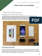 -Xiaomi Mi5 Test Du Monstre Chinois Au Prix Imbattable