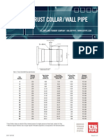 Wall Pipe Standard
