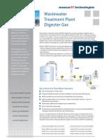 MeasurIT FCI Application WWTP Digester Gas 0810